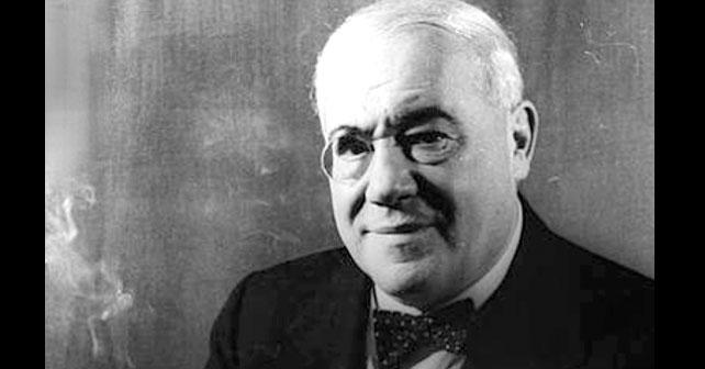 Na fotografiji je prikazan pisac, dramaturg: Ferenc Molnar