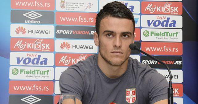 Na fotografiji je prikazan fudbaler: Filip Kostić