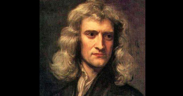 Na fotografiji je prikazan naučnik, fizičar, matematičar, astronom: Isak Njutn (Isaac Newton)