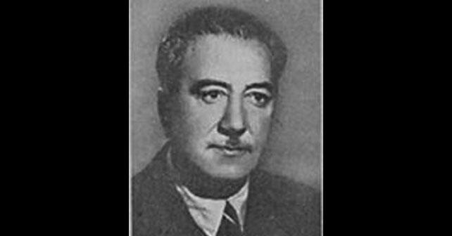 Na fotografiji je prikazan književnik, lekar: Isak Samokovlija