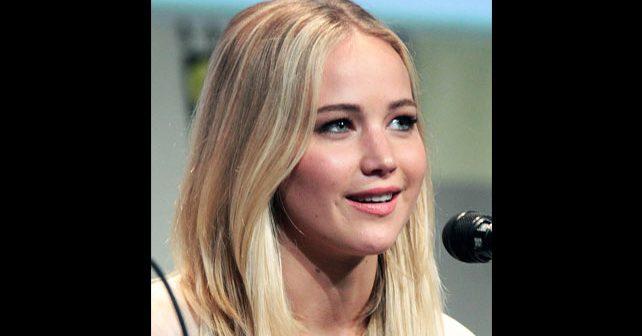 Na fotografiji je prikazan glumica: Dženifer Lorens (Jennifer Lawrence)