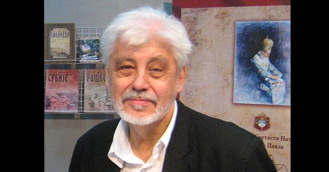 Na fotografiji je prikazan književnik, dramaturg: Milovan Vitezović