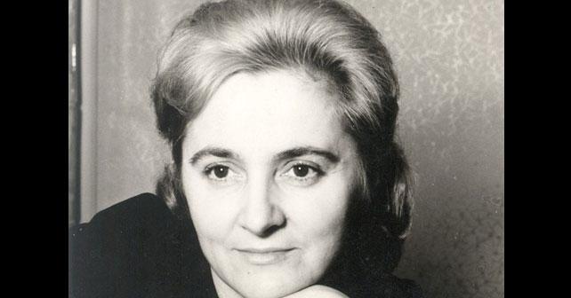 Na fotografiji je prikazan književnik, pisac: Mira Alečković