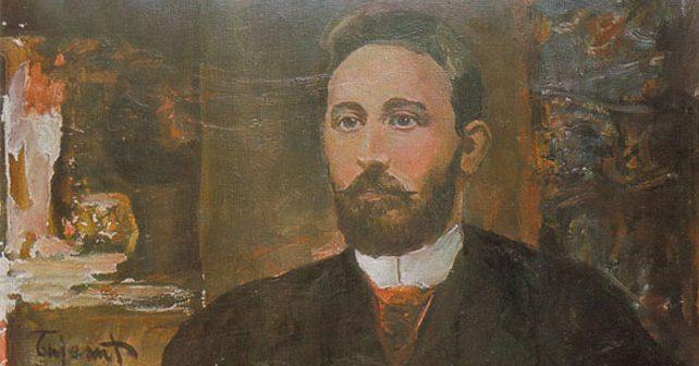 Na fotografiji je prikazan pesnik, književnik: Petar Kočić