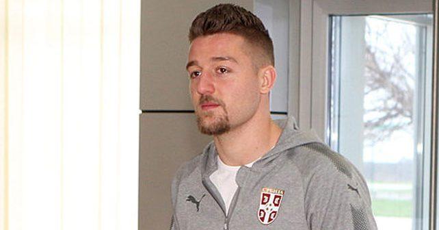 Na fotografiji je prikazan fudbaler: Sergej Milinković Savić
