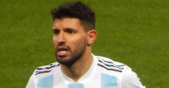 Na fotografiji je prikazan fudbaler: Serhio Aguero