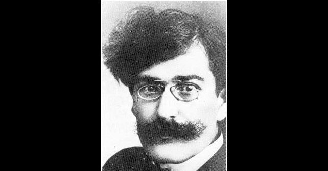 Na fotografiji je prikazan književnik, pesnik: Vladislav Petković Dis