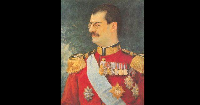 Na fotografiji je prikazan kralj, vladar: Aleksandar Obrenović