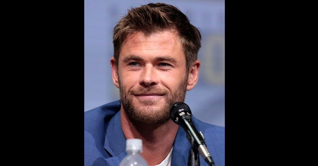 Na fotografiji je prikazan glumac: Kris Hemsvort (Chris Hemsworth)
