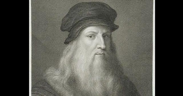 Na fotografiji je prikazan slikar, arhitekt, inženjer, matematičar: Leonardo da Vinči