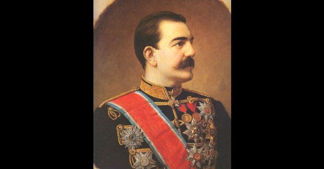 Na fotografiji je prikazan kralj, knez, vladar, političar: Milan Obrenović