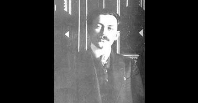 Na fotografiji je prikazan pesnik, akademik, diplomata: Milan Rakić
