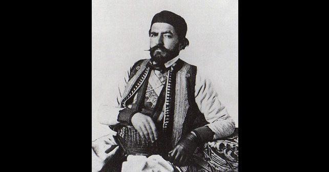 Na fotografiji je prikazan vladar, vladika, pesnik, filozof: Petar Petrović Njegoš