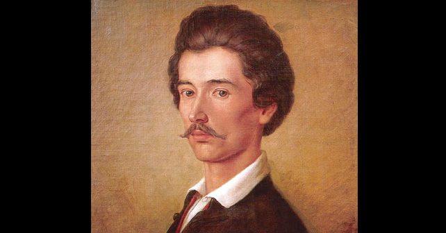Na fotografiji je prikazan književnik, revolucionar: Šandor Petefi