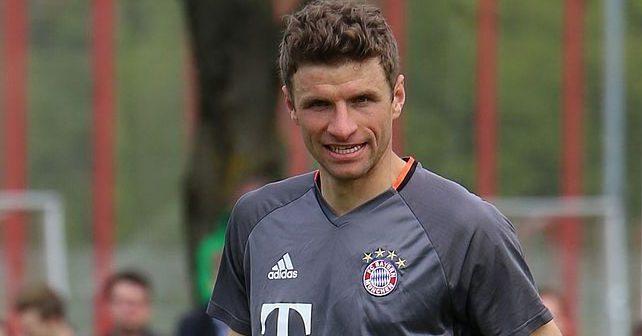 Na fotografiji je prikazan fudbaler: Tomas Miler (Thomas Müller)