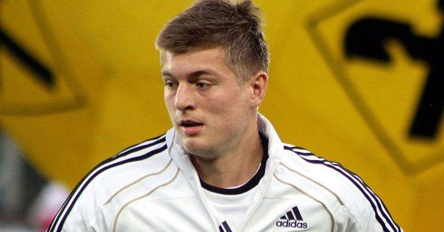 Na fotografiji je prikazan fudbaler: Toni Kroos