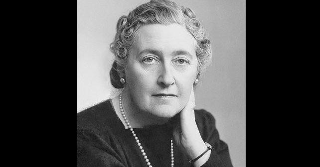 Na fotografiji je prikazan pisac, farmaceut: Agata Kristi (Agatha Christie)