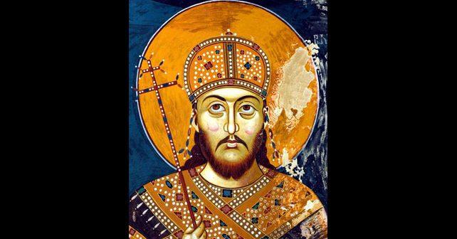 Na fotografiji je prikazan car, vladar: Dušan Silni (Stefan Dušan)