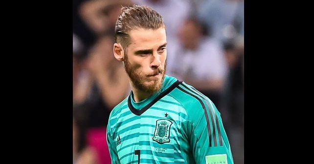 Na fotografiji je prikazan fudbaler: David de Hea