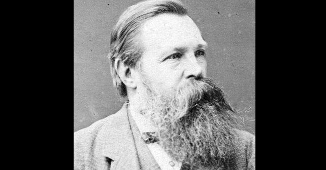 Na fotografiji je prikazan filozof, novinar: Fridrih Engels (Friedrich Engels)
