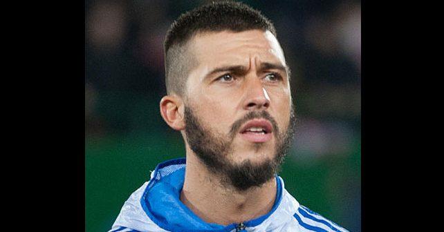 Na fotografiji je prikazan fudbaler: Haris Medunjanin
