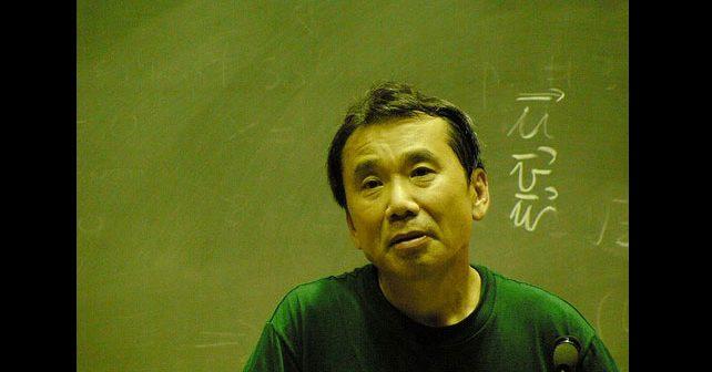 Na fotografiji je prikazan pisac: Haruki Murakami