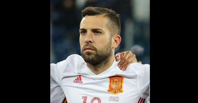 Na fotografiji je prikazan fudbaler: Đordi Alba (Jordi Alba Ramos)