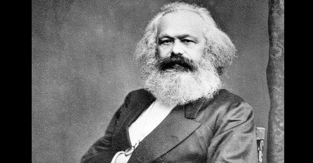 Na fotografiji je prikazan filozof, novinar: Karl Marks