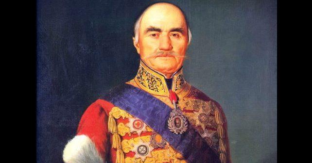 Na fotografiji je prikazan vladar, političar: Miloš Obrenović