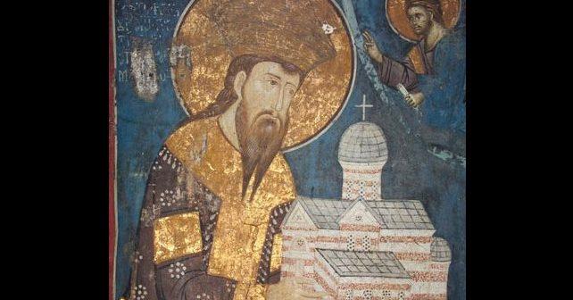 Na fotografiji je prikazan kralj, vladar: Stefan Uroš III Dečanski