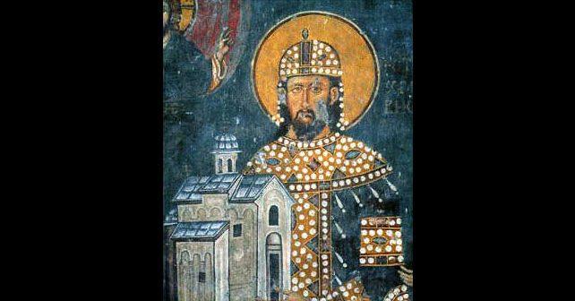 Na fotografiji je prikazan kralj, vladar: Stefan Dragutin