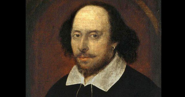 Na fotografiji je prikazan književnik, pesnik, glumac: Vilijam Šekspir