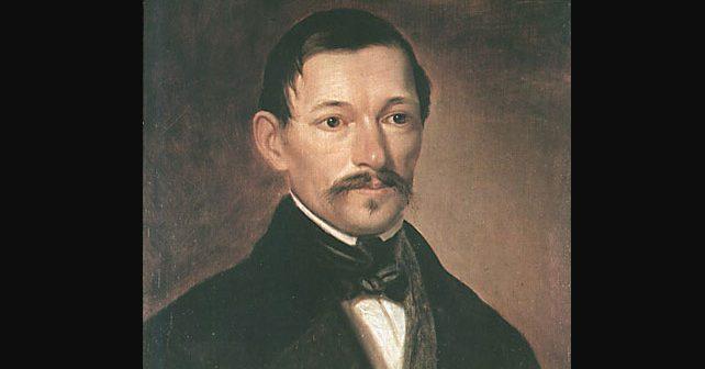 Na fotografiji je prikazan pisac, pesnik, komediograf: Jovan Sterija Popović