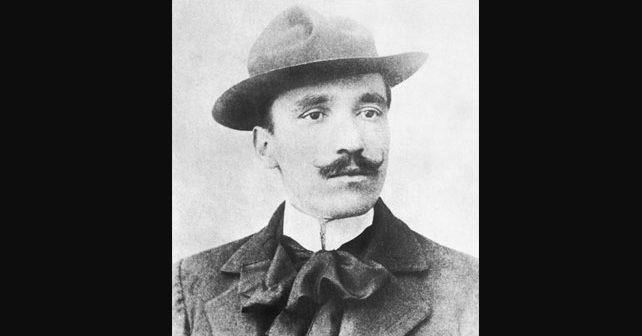 Na fotografiji je prikazan književnik: Antun Gustav Matoš