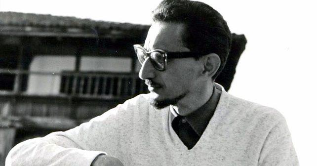 Na fotografiji je prikazan književnik, scenarist: Borislav Pekić