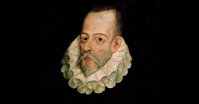 Na fotografiji je prikazan književnik, vojnik: Migel de Servantes (Miguel de Cervantes)