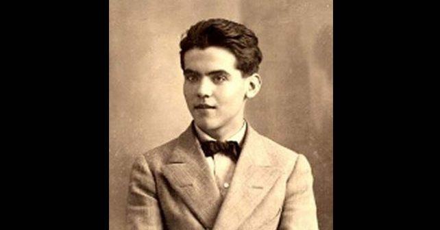 Na fotografiji je prikazan književnik, pesnik: Federiko Garsija Lorka (Federico García Lorca)
