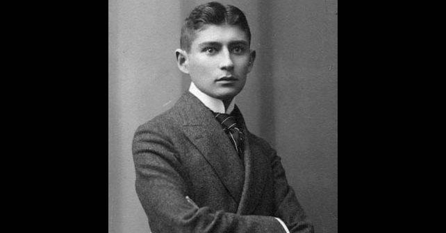 Na fotografiji je prikazan književnik: Franc Kafka