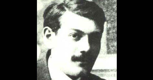 Na fotografiji je prikazan književnik, pesnik: Milutin Bojić