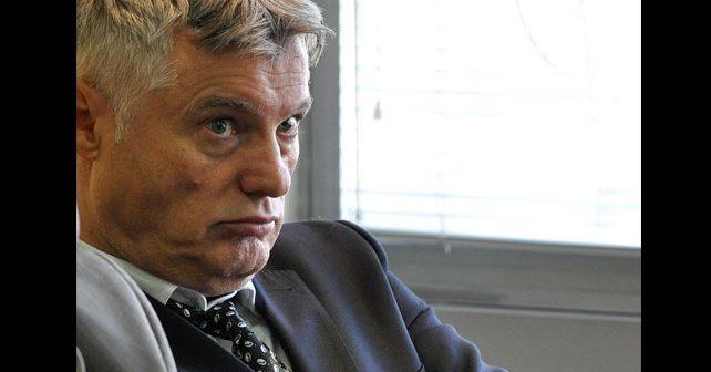 Na fotografiji je prikazan novinar, vojni analitičar, diplomata: Miroslav Lazanski