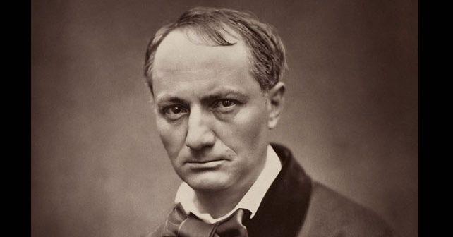 Na fotografiji je prikazan književnik: Šarl Bodler (Charles Pierre Baudelaire)
