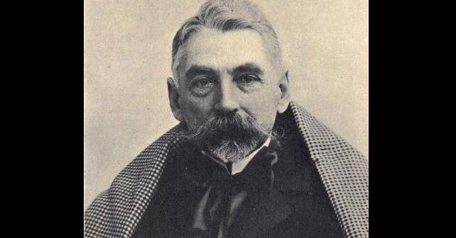 Na fotografiji je prikazan kritičar, pesnik: Stefan Malarme (Stéphane Mallarmé)