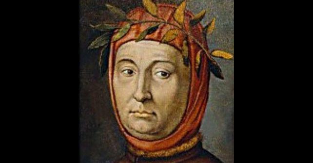 Na fotografiji je prikazan pesnik: Frančesko Petrarka