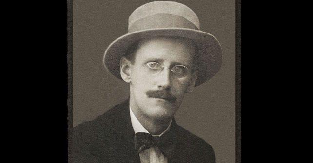 Na fotografiji je prikazan književnik: Džejms Džojs (James Joyce)