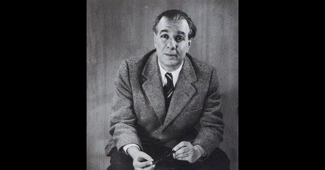 Na fotografiji je prikazan književnik: Horhe Luis Borhes (Jorge Luis Borges)