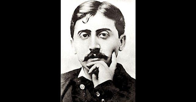 Na fotografiji je prikazan književnik: Marsel Prust (Marcel Proust)