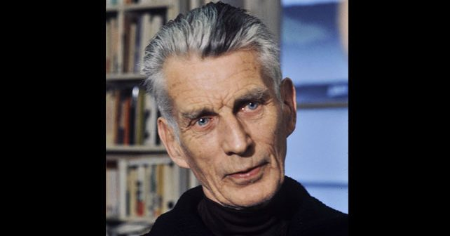 Na fotografiji je prikazan književnik: Semjuel Beket (Samuel Beckett)