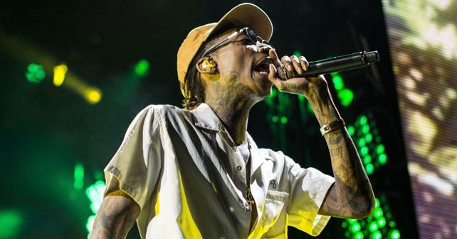 Na fotografiji je prikazan pevač, reper: Viz Kalifa (Wiz Khalifa)