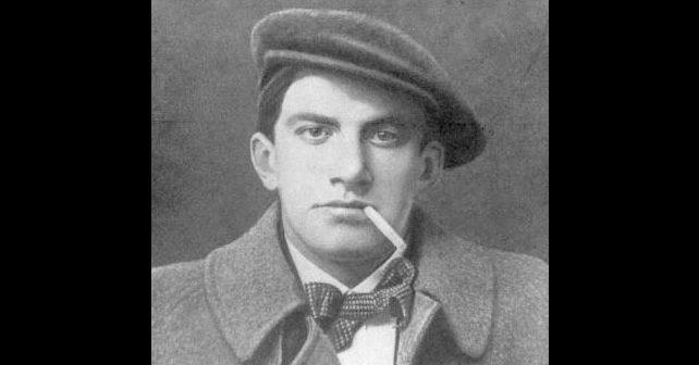 Na fotografiji je prikazan književnik, slikar, glumac: Vladimir Vladimirovič Majakovski