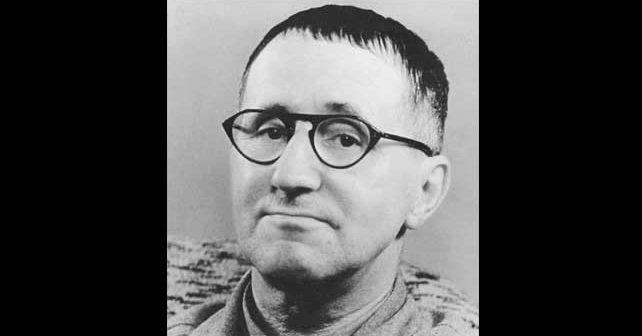 Na fotografiji je prikazan književnik, pesnik: Bertolt Breht (Bertolt Brecht)